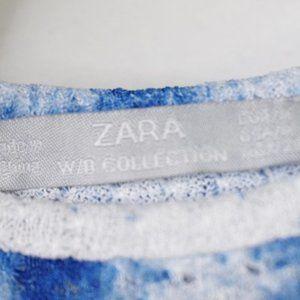 Zara Dresses - Zara W/B Collection Tie Dye Sleeveless Maxi Dress